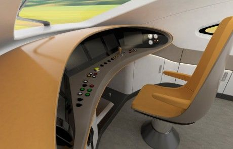 High Speed driver cabin